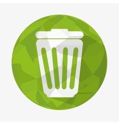 Waste icon design vector