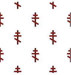 cross pattern flat vector image