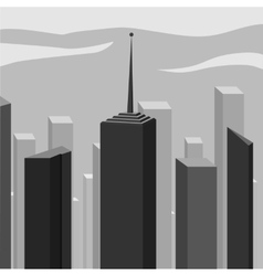 Abstract corporate city skyscraper vector