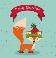 Merry chirstmas design vector
