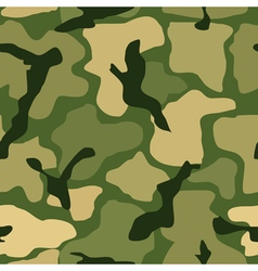 Abstract seamless camouflage pattern vector