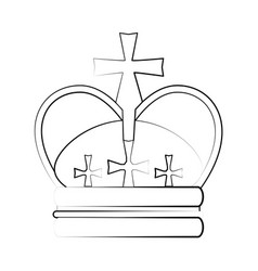 Crown ilustration vector