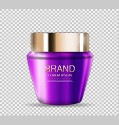 design cosmetics product template for ads o vector image vector image