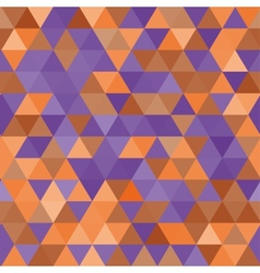 seamless pattern Multicolor triangles vector image
