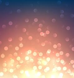Sunset defocused background vector image