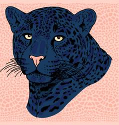 Leopard face tattoo   print vector