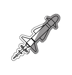 Missile rocket weapon vector