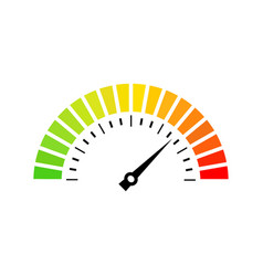 performance measurement icon logo vector image