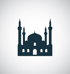 Mosque icon vector