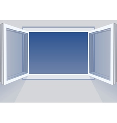 Windows open vector