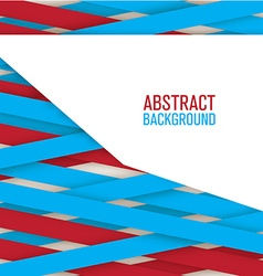 Abstract creative lines background vector