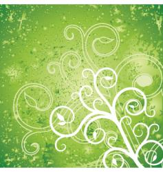 tree green vector image