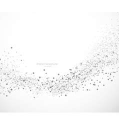 Background with dots vector image