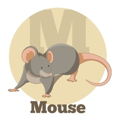 Abc cartoon mouse2 vector