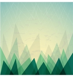 Abstract geometric background Modern triangles vector image