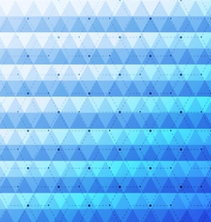 Blue bright abstract triangles seamless pattern vector