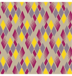 retro diamond repeat pattern 4 vector image vector image