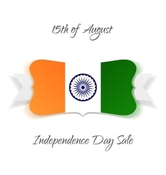 India independence day festive banner vector