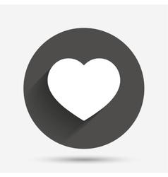 Love icon heart sign symbol vector