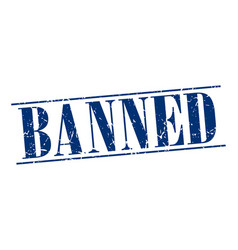 Banned vector