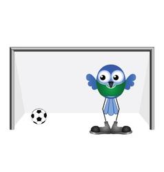 Soccer goalie vector