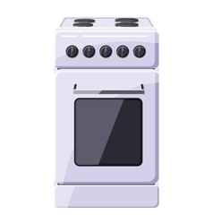 Stove for cooking icon cartoon style vector