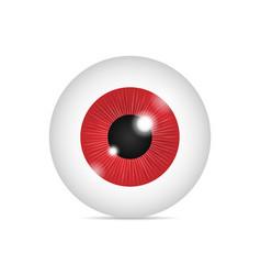 Realistic human eyeball vector