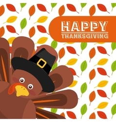 Happy thansksgiving vector