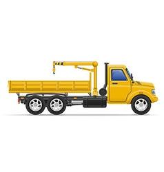 Cargo truck 23 vector