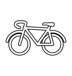 Cycle icon bike design graphic vector