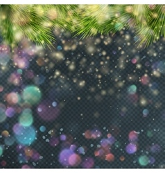 Gold glitter particles background EPS 10 vector image vector image