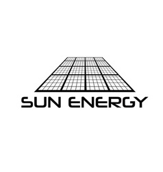 Solar cell design template vector image