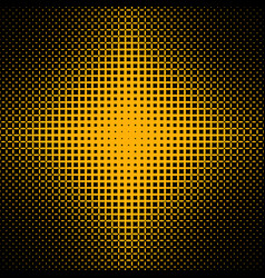 Symmetrical halftone ellipse pattern background vector