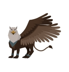 Mythical Monsters Griffin vector image