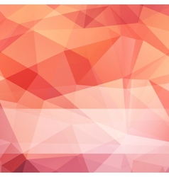 abstract triangle mesh background vector image