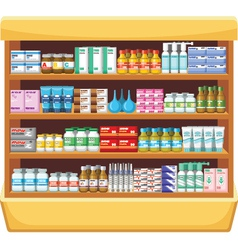Pharmacy medicine vector