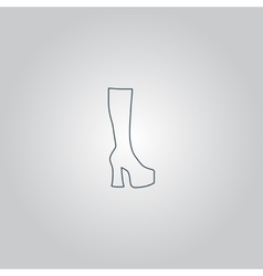 Chaussure woman vector