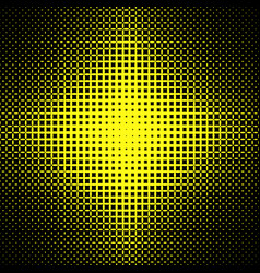 abstract halftone ellipse grid pattern background vector image vector image