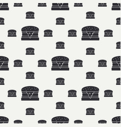 Abstract seamless background pattern in hipster vector