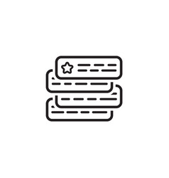 Ad auction icon flat design vector