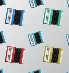 background for accordion vector image