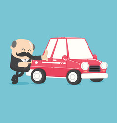 concept car loans vector image