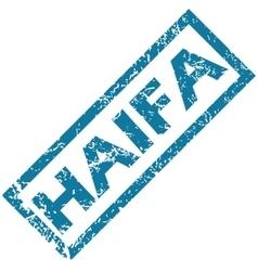 Haifa rubber stamp vector