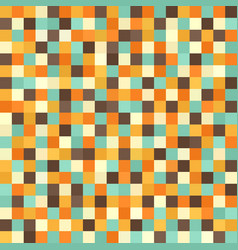 Pixel pattern seamless retro pixel art background vector