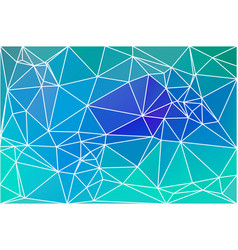 Turquoise blue purple geometric background with vector