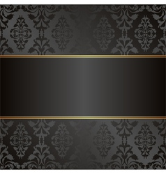 Velvet black background vector