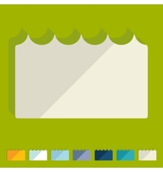 Flat design wave vector