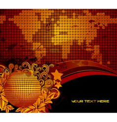 grunge abstract background vector image vector image