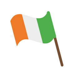 ireland flag icon image vector image vector image