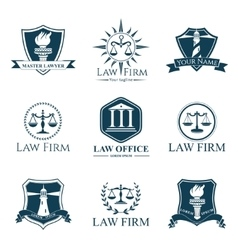 Law company 9 vector